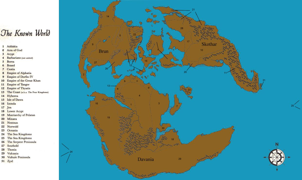 The blackmoor archives home of the comeback inn a map of mystarascontinents by gumiabroncs Image collections